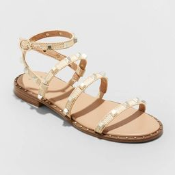 Women's Astrid Studded Strappy Sandals - A New Day™   Target