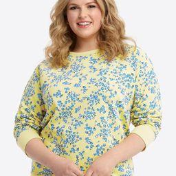 Natalie Sweatshirt in Cherry Blossom | Draper James (US)