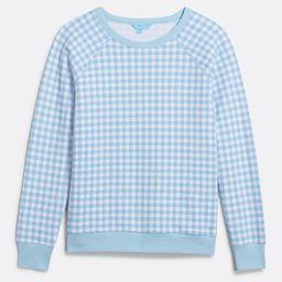 Natalie Sweatshirt in Gingham | Draper James (US)
