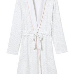 JB x LAKE Pima Robe in Spring Garden | LAKE Pajamas
