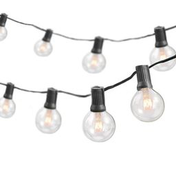 Shoaf 50' Outdoor 50 - Bulb Globe String Light | Wayfair North America