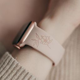 Be Still Engraved Watch Strap Compatible with Apple Watch Bands, Mother's Day Gift, Gifts for Mom...   Etsy (US)