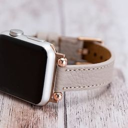 Beige Unique Genuine Leather for Apple Watch Band Series SE 6 5 4 3 2 1 , 38mm 40mm 42mm 44mm , i...   Etsy (US)