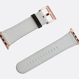 Wolf Grey Apple Watch Strap   Premium Vegan Faux Leather available for all Apple Watches includin...   Etsy (US)