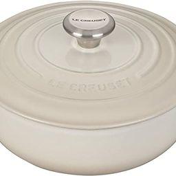 Le Creuset Enameled Cast Iron Signature Sauteuse Oven, 3.5 qt., Meringue | Amazon (US)