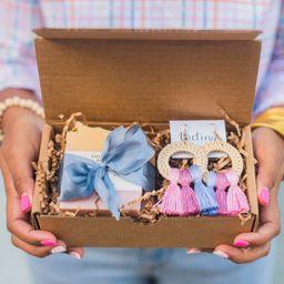 RB Soap Co. X The Tiny Tassel  Rainbow Row Gift Set   The Tiny Tassel