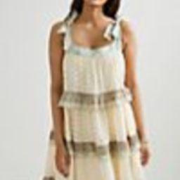 Effie Eyelet Mini Dress | Anthropologie (US)