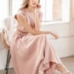 Brings You Back Dusty Pink Two-Piece Midi Dress   Lulus (US)