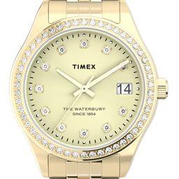 Timex® Waterbury Legacy Crystal Bracelet Watch, 34mm   Nordstrom   Nordstrom