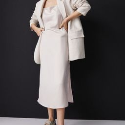 Satin Slip-style Dress   H&M (US)