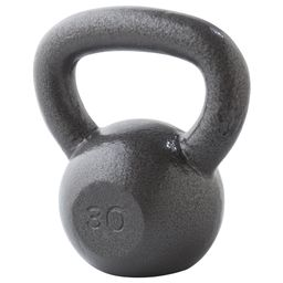 Weider Cast Iron Kettlebell, 10-35 lbs with Extra Wide Grip and Hammertone Finish | Walmart (US)