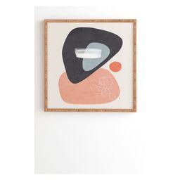 Tracie Andrews Statua Framed Wall Art Pink - society6   Target