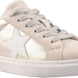 PARTY Women's Fashion Star Sneaker Lace Up Low Top Comfortable Cushioned Walking Shoes | Amazon (US)
