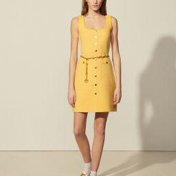 Short tweed dress | Sandro Paris (US)