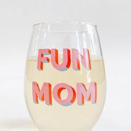 Pre-Order: Taylor Wolfe X Alice & Wonder - Fun Mom Wine Glass   Alice & Wonder