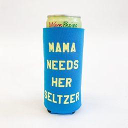 Mama Needs Her Seltzer Koozie - Blue   Alice & Wonder
