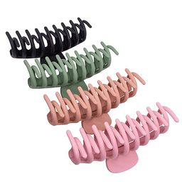 JSY Hair Clips Big Hair Claw Clips Nonslip Large Claw Clip for Women and Girls Thin Hair, Strong ... | Amazon (US)