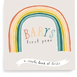 'Baby's First Year' Little Rainbow Memory Book   Nordstrom