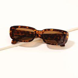 Tortoiseshell Frame Sunglasses | SHEIN