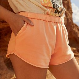 Aerie Sunset Terry Fleece High Waisted Short | American Eagle Outfitters (US & CA)