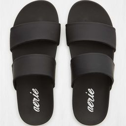 Aerie Double Strap Pool Slide | American Eagle Outfitters (US & CA)