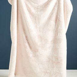 Sophie Faux Fur Throw Blanket   Anthropologie (US)