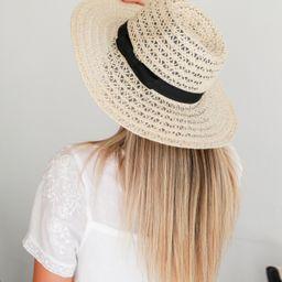 Sail Away Straw Fedora Hat   Dress Up