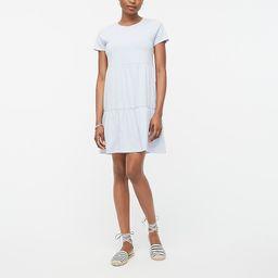Tiered mini dress   J.Crew Factory