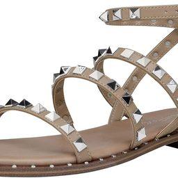 DREAM PAIRS Women's Gladiator Cute Summer Flat Sandals, amazon finds | Amazon (US)