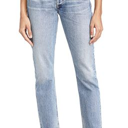 Charlotte High Rise Straight Jeans | Shopbop