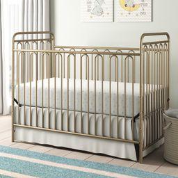 Lavern Metal 3-in-1 Convertible Crib | Wayfair North America