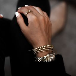 THE GRADIENT RING - GOLD | Stylin by Aylin