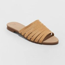 Target/Shoes/Women's Shoes/SandalsWomen's Rosa Pointed Toe Slide Sandals - A New Day™ TaupeS... | Target