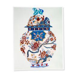 Ginger Jar Print IV   Furbish Studio
