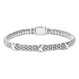 'Signature Caviar' Mini Oval Rope Bracelet | Nordstrom