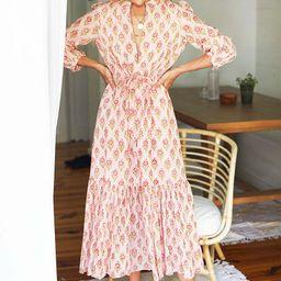 Frances Dress 2 - Monday Flowers   Emerson Fry