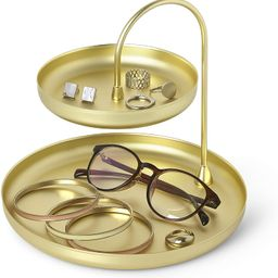 Umbra Poise Large Jewelry Tray, Double Jewelry Tray, Attractive Jewelry Storage You Can Leave Out...   Amazon (US)