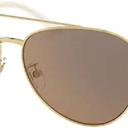 Tory Burch TY6074 Pilot Sunglasses for Women+FREE Complimentary Eyewear Care Kit | Amazon (US)