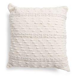 20x20 Textured Cotton Pillow | Marshalls