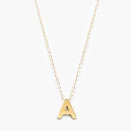Letter Necklace   Live Fashionable