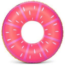BigMouth Inc. Pink Lemon Tube Pool Float | QVC