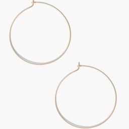 Thin Hoop Earring   Live Fashionable