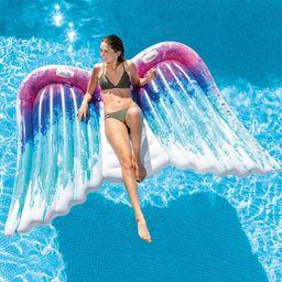 Intex Angel Wings Mat Pool Float, Multi | The Home Depot