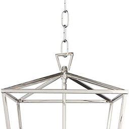 Dia 12.6 Inch Iron Cage Openwork Lantern Pendant Lamp Stairway Loft Entry Kitchen Hall Foyer Ceil...   Amazon (CA)