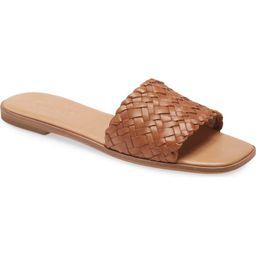 Madewell The Lianne Woven Slide Sandal (Women) | Nordstrom | Nordstrom