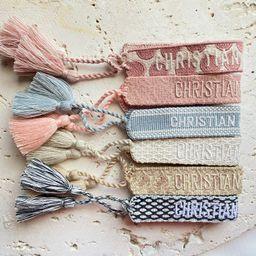 Woven Cotton Bracelet Fashion Friendship Bracelet Threaded | Etsy | Etsy (US)