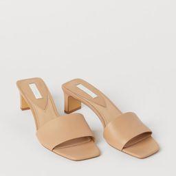 Leather Sandals | H&M (US)