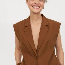Sleeveless Jacket | H&M (US)