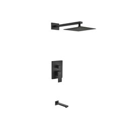 BK-WR200TF2V Aqua Piazza Diverter Complete Shower System with Rough-in Valve | Wayfair North America