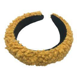 Do Everything In Love Women's Headbands YELLOW - Yellow Fuzzy Headband | Zulily